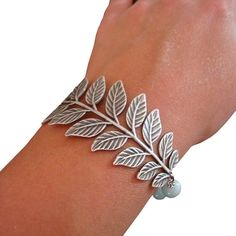 Hey, I found this really awesome Etsy listing at https://www.etsy.com/listing/39127680/silver-leaf-bangle-friendship-bracelet