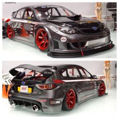 Subaru Impreza STI rc drift car
