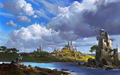 Knight, ling xiang on ArtStation at https://www.artstation.com/artwork/L4X4v