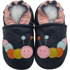 KRABBELSCHUHE krabbelpuschen Cuir amener du des chaussons de bébé Shoes UE 18 19 20 21 22 23