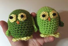 Sooz In The Shed...: Amigurami Owls - free crochet pattern