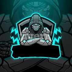 design professional mascot logo for sports, esports, twitch Team Logo Design, Logo Desing, Mascot Design, Logo D'art, Hacker Logo, Foto Logo, Marshmello Wallpapers, Ninja Logo, How To Make Logo