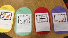 The Jellybeans by Laura Numeroff writing...how there is a book for everyone to like