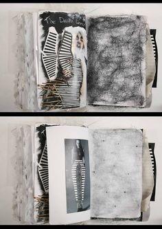 Creative fashion sketchbook by Ania Leike Sketchbook Layout, Textiles Sketchbook, Fashion Design Sketchbook, Sketchbook Inspiration, Fashion Sketches, Sketchbook Ideas, Fashion Design Portfolio, Art Portfolio, Portfolio Layout