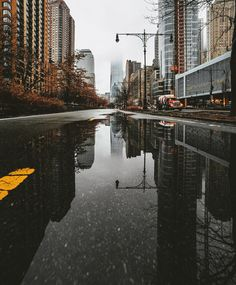 Reflection flicks (Photo by Constantine... - New York: The City That Never Sleeps