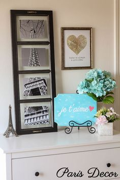 Paris decor ideas fo