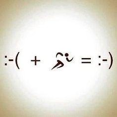Laufen macht glücklich :-) running makes me happy :-) Citation Motivation Sport, Fitness Motivation, Fitness Quotes, Exercise Motivation, Motivation Quotes, I Love To Run, Just Run, Just Do It, Fitness Workouts
