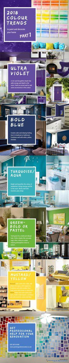 2018 Colour Trends - Part 1 #interiordesign #homedecor #modern