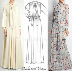 Abaya Fashion, Muslim Fashion, Modest Fashion, Fashion Dresses, Shifon Dress, Diy Dress, Abaya Mode, Mode Hijab, Dress Sewing Patterns