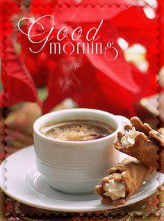 Foto: Buongiornissimoooo caffè caldo bollente per tutti voi!!! Buona giornata belli!!