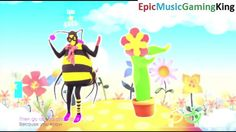 """Just Dance 2016 Gameplay - """"All About That Bass"""" (Flower And Bee Version) - Score Of 4019 Points This video features my Just Dance 2016 gameplay as I dance to the """"All About That Bass"""" (Flower And Bee Version) Song sung by Meghan Trainor and achieve a high score of 4019points. The objective of this rhythm game is to mimic the moves of the dancer featured in the on-screen music video as accurately as possible in order to make an earnest attempt to earn the highest possible score."""