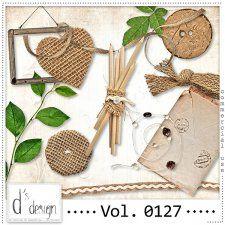 Vol. 0127 - Natural Mix  by Doudou's Design  cudigitals.com cu commercial scrap scrapbook digital graphics#digitalscrapbooking #photoshop #digiscrap