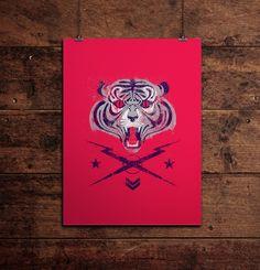 Tiger! by Andrés Moncayo.