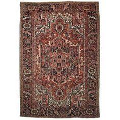 New Contemporary Persian Heriz Area Rug 61640 - Area Rug area rugs