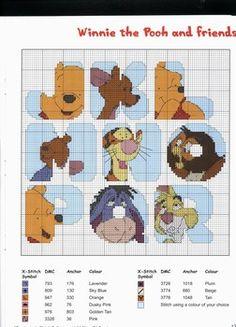 abecedario winnie the pooh