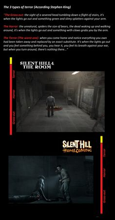 Silent Hill 4 The Room and Silent Hill Homecoming
