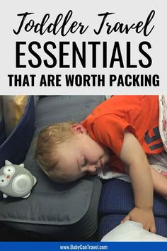 10 Toddler Travel Essentials