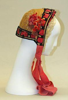 1862 bonnet...delicious #bonnet #hat #ribbon #straw #victorian #fashion #costume #millinery