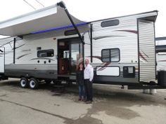 Wishing Lisa & Mike years of Happy Camping in their new Cherokee Park Model Trailer 39P