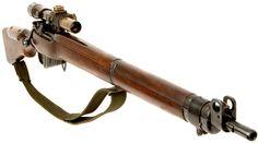 0a4t-035088_11.  Looks like British 303 Sniper Rifle.
