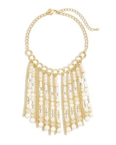Chico's Ester Fringe Necklace #chicos