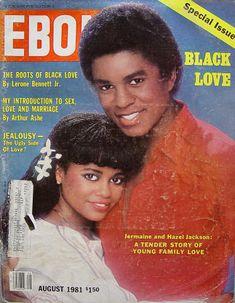 Jet Magazine, Black Magazine, Ebony Magazine Cover, Magazine Covers, Black Tv Shows, Jermaine Jackson, The Cosby Show, Vintage Black Glamour, Black Art Pictures
