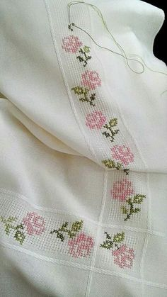 Thrilling Designing Your Own Cross Stitch Embroidery Patterns Ideas. Exhilarating Designing Your Own Cross Stitch Embroidery Patterns Ideas. Cross Stitch Borders, Cross Stitch Rose, Cross Stitch Alphabet, Cross Stitch Flowers, Cross Stitch Designs, Cross Stitching, Cross Stitch Patterns, Loom Patterns, Ribbon Embroidery