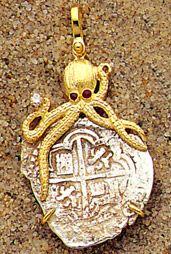 Tesoro procedente del buque Español Nuestra Señor de Atocha. Atocha treasure