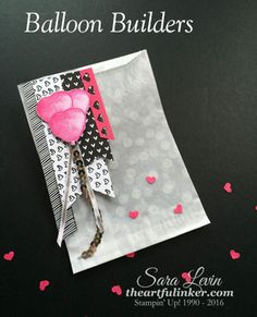 Balloon Builders Valentine Treat Bag
