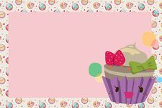 """It's amazing how some ppl just """"has it""""! A complete DIY party kit! Diy Party Kits, Party Sweets, Cake Logo, Cupcake Wrappers, Wallpaper Backgrounds, Printables, Birthday, Tableware, It's Amazing"""