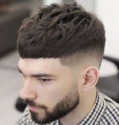 High Fade Edgar Cut - Best Edgar Haircut Styles For Men: Cool Edgar Cut For Latino Guys #menshairstyles #menshair #menshaircuts #menshaircutideas #menshairstyletrends #mensfashion #mensstyle #fade #undercut #barbershop #barber Clean Cut Haircut, Crop Haircut, Fade Haircut, Haircut Short, Haircut Styles, Haircut Men, Trendy Haircuts, Best Short Haircuts, Popular Haircuts