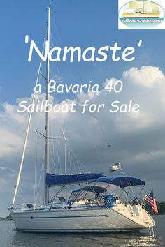 More pics and data for this popular cruising yacht design, the Bavaria 40. Used Sailboats For Sale, Sailboat Cruises, Yacht Design, Bavaria, Namaste, Engineering, Beach, Anchor, Water