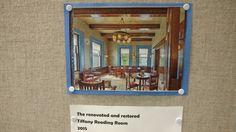 Tiffany Room, Reading Room, Exhibit, Restoration, Frame, Home Decor, Picture Frame, Decoration Home, Room Decor