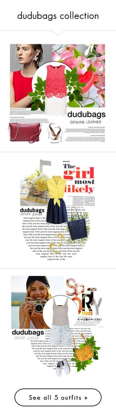"""dudubags collection"" by amra-mak ❤ liked on Polyvore"