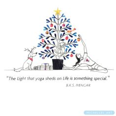 """Yoga sheds light on Life!"