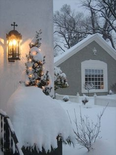Silent Night..... I LOVE how the snow covers .. what love does