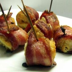 Bacon Wrapped Cream Cheese Recipe | Just A Pinch Recipes
