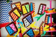 Pirulitos de chocolate  @rebastos_felicitafesta