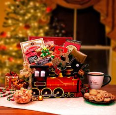 The Christmas Express Holiday Gift Box, $67.94