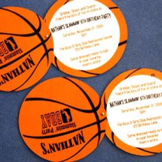 FREE Printable Basketball Themed Party Invitations Best of