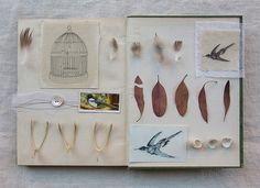 an unwritten book page 6 - pour faire le portrait d'un oiseau by wild goose chase, via Flickr
