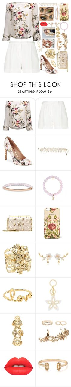"""Outfits are kinda back!"" by sodenoshirayuki-kuran ❤ liked on Polyvore featuring Elie Saab, BCBGeneration, Amrita Singh, Thomas Sabo, Oscar de la Renta, Gucci, Aurélie Bidermann, Sydney Evan, MICHAEL Michael Kors and Marie Claire"
