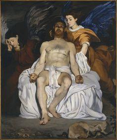 Édouard_Manet_-_Le_Christ_mort_et_les_anges.jpg 772×928 pixels