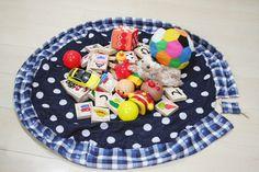 お片づけが一瞬で できるおもちゃマットの作り方 | clocomi DIY