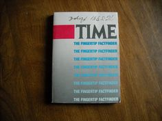 Time The Fingertip Factfinder (1987) - for sale at Wenzel Thrifty Nickel ecrater store