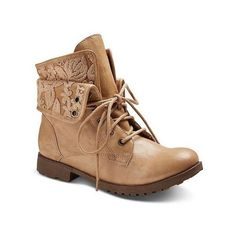 Women's Bobo Fashion Booties ❤ liked on Polyvore featuring shoes, boots, ankle booties, army boots, combat booties, combat boots and military boots