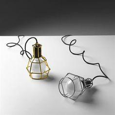 Work Lamp - MUSTA - Design House Stockholm. Näitä samanlaisia oli Clas Ohlssonilla myynnissä n 15e. ;)