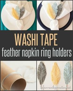 DIY CRAFTS | Washi T