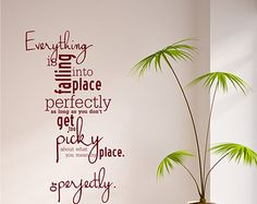 Erma Bombeck Wall Decal Quote Everything You by singlestonestudios