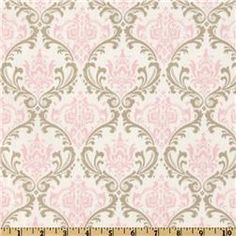 Premier Prints Madison Cozy/Bella Pink - for Lilia's room (pillow or bedding, not curtains b/c pattern is too small)
